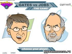 Билл Гейтс против Стива Джобса / Gates vs. Jobs
